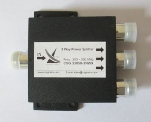 3 Way Power Splitter (CSG33050-3NWX)