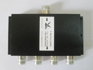 4 Way Power Splitter (CSG33050-4NWX)